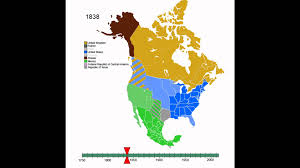 Interactive Map Of Usa by Animated History Of North America Youtube