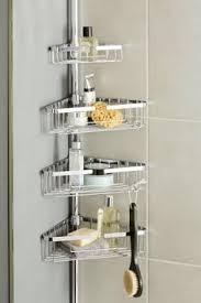 Bathroom Tidy Ideas Satina Chrome Hanging Shower Caddy Shelf Basket Tidy Diy Baths
