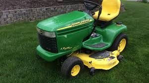 john deere lx277 aws all wheel steer lawn tractor for sale