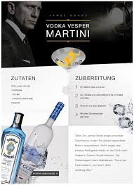 vodka martini james bond amazon de casino royale vodka vesper martini lebensmittel