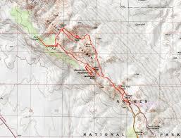 Arches National Park Map Otina U0027s Adventures