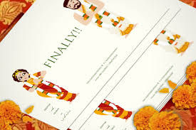 indian wedding invitation designs creative indian wedding invitation designs best of meet deepthi
