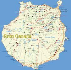 Canary Islands Map Gran Canaria Map