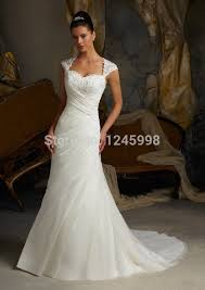 new white ivory organza wedding dress bridal dress stock us size 2