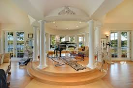 Living Room In Mansion Lorie Line Facing Foreclosure On Her Lake Minnetonka Mansion