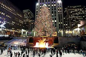 rockefeller center christmas tree pictures images and stock