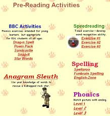 reading comprehension esl resources