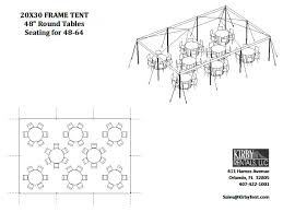 floor plans kirby tent rentals suggested tent floor plans click on layouts to enlarge