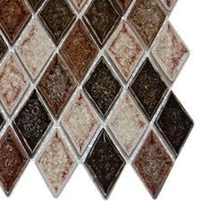 kitchen backsplash samples splashback tile roman selection il fango diamond 3 in x 6 in x 8
