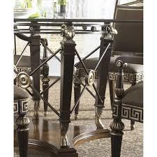 fine furniture design belvedere 60 inch round glass top dining
