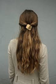 hair cuff geometric hair accessory metal pony tie square hair cuff
