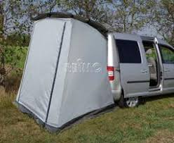 Van Rear Door Awning Reimo Vw Caddy Trapeze Rear Tent And Other Mini Camper Vans With