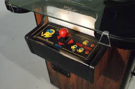 sit down arcade cabinet vintage 1980 classic ms pac man sit down arcade cocktail table
