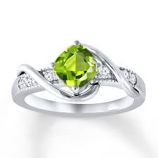 peridot engagement ring engagement rings wedding rings diamonds charms jewelry from