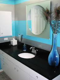 blue bathroom decorating ideas black and white and blue bathroom ideas home decorations