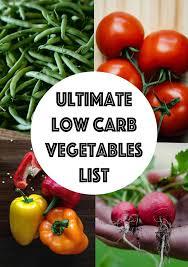 best 25 low carb vegetables list ideas on pinterest carb list