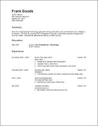 General Resume Sample by Career Services Sample Resumes