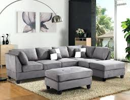 Recliners Trendy Sectional Recliner Sofa Microfiber For Home