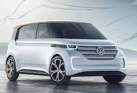 luxury minivan 2016 volkswagen budd e concept 373 mile all electric van signals the