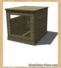 dog house woodworking plans woodshop plans