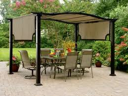 Patio Gazebo Replacement Covers by Outdoor Backyard Canopy Gazebo Big Lots Backyard Canopy Gazebo