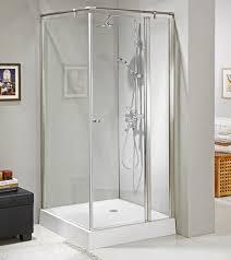 Glass Bathroom Shower Enclosures Aluminum Axis Tempered Glass Bathroom Shower Enclosure With S S