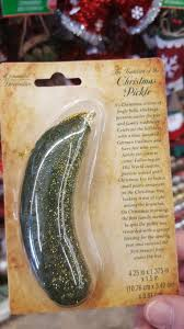 pickle ornament legendchristmas recipes