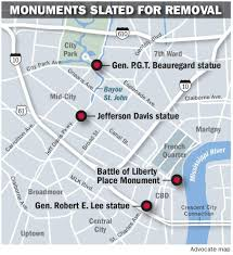 New Orleans Ward Map by Cost For New Orleans To Bring Down Confederate Monuments So Far