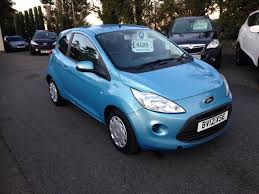 used ford ka edge blue cars for sale motors co uk