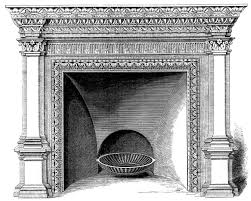 fireplace clipart black and white wpyninfo