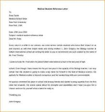 7 letter of recommendation medical student academic resume template