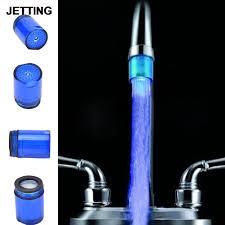 Kitchen Faucet Nozzle Online Get Cheap Led Faucet Aerator Aliexpress Com Alibaba Group