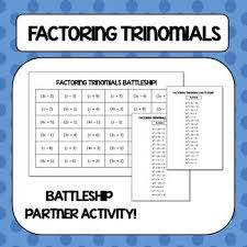 factoring quadratic expressions color worksheet 3 aric thomas