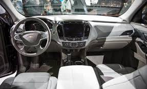 Chevy Traverse Interior Dimensions 2018 Chevrolet Traverse New Generation 2017 2018 Cars Review