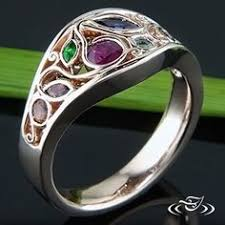 design a mothers ring 5 stacking rings with birthstones s rings family rings