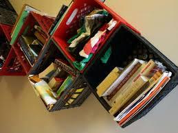 book storage plastic milk crates as book storage using plastic milk crates as