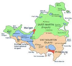 map of st martin 1 island 2 personalities infinite paradise st maarten st martin