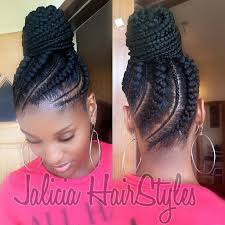 updo hairstyles with big twist cornrow updo pinteres