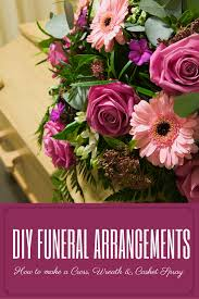how to make a casket spray diy funeral arrangements learn how to make your own funeral cross