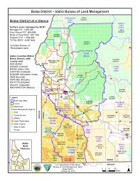 Map Of Idaho And Montana by Media Center Public Room Idaho Boise District Map Bureau Of