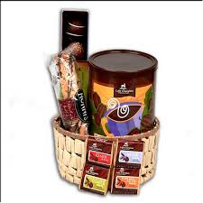 hot chocolate gift basket gourmet chocolate gift basket with free shipping organic fair