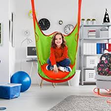 Cool Things To Buy For Your Room Hammock Pod Swing Chair by Amazon Com Sorbus Kids Pod Swing Chair Nook Hanging Seat