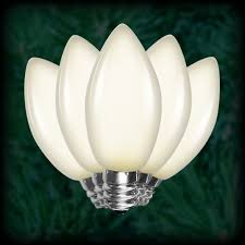 led warm white c9 bulbs smooth replacement spare 25