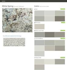 white spring granite collection natural stone slabs daltile