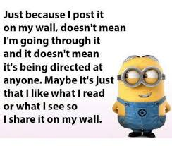 Post It Meme - just because i post it on my wall doesn t mean i m going through it