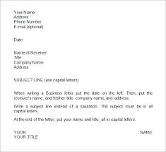 awesome collection of sample format for writing a business letter