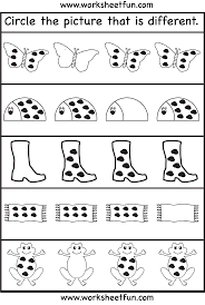 image result for fun number game worksheets for kids 4 years old