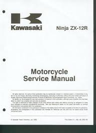 kawasaki zx12r 2000 service manual service manual pdf download