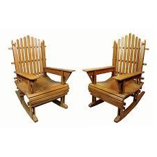 Vintage Adirondack Chairs Pair Of Vintage Painted Wood Adirondack Rocking Chairs At 1stdibs