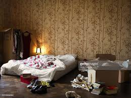 messy teenage girls bedroom stock photo getty images